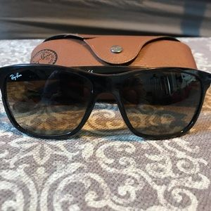 Ray Ban RB 4181 Tortoiseshell Sunglasses